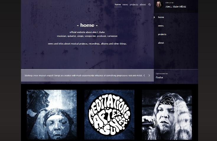 Alex L. Thaler Official Artist Page