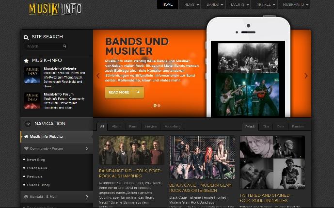 Musik-Info Das Online Magazin